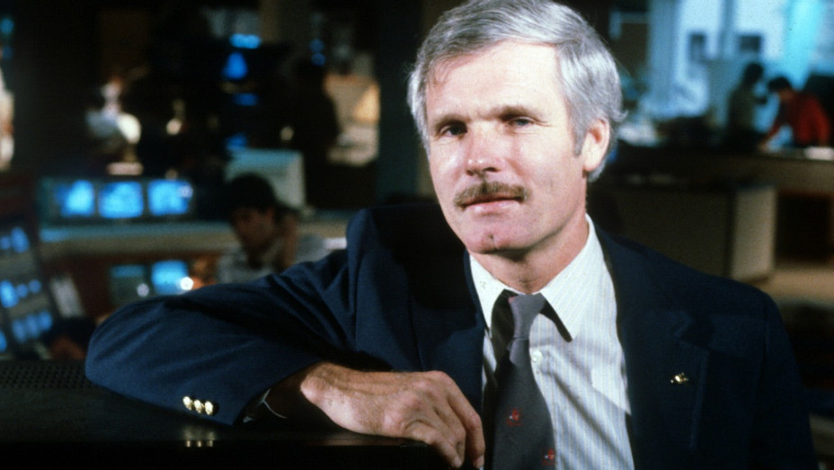 CNN Launch Ted Turner - H - 1980