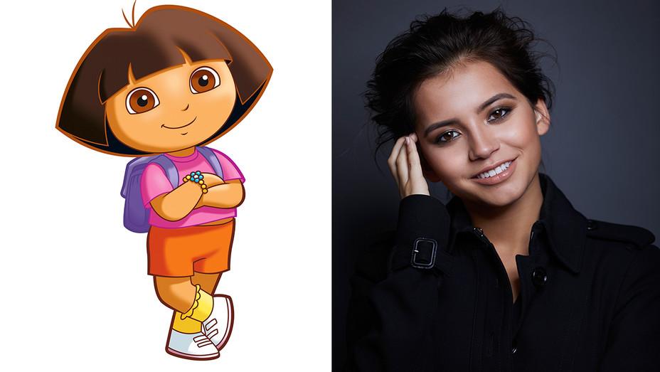 Dora the Explorer Cartoon Isabela Moner Split - Publicity - H 2018