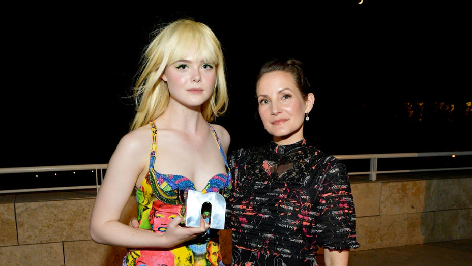 Elle Fanning and Samantha McMillen - Getty - H 2018