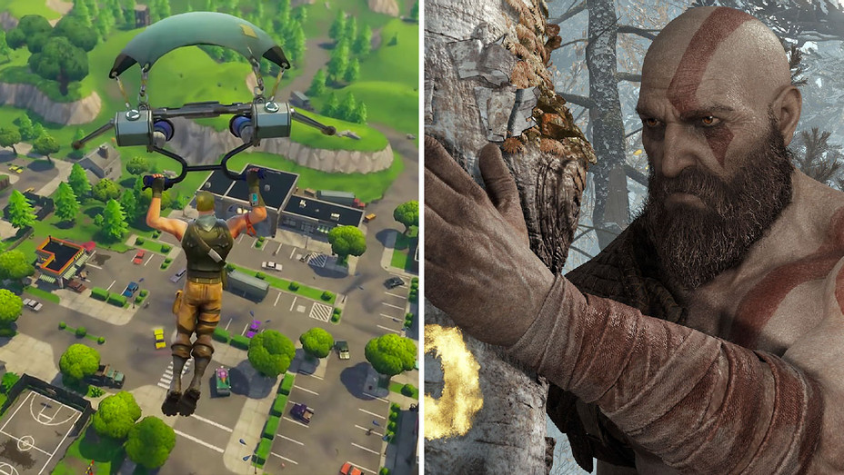 Fortnite_God of War_Split - Publicity - H 2018