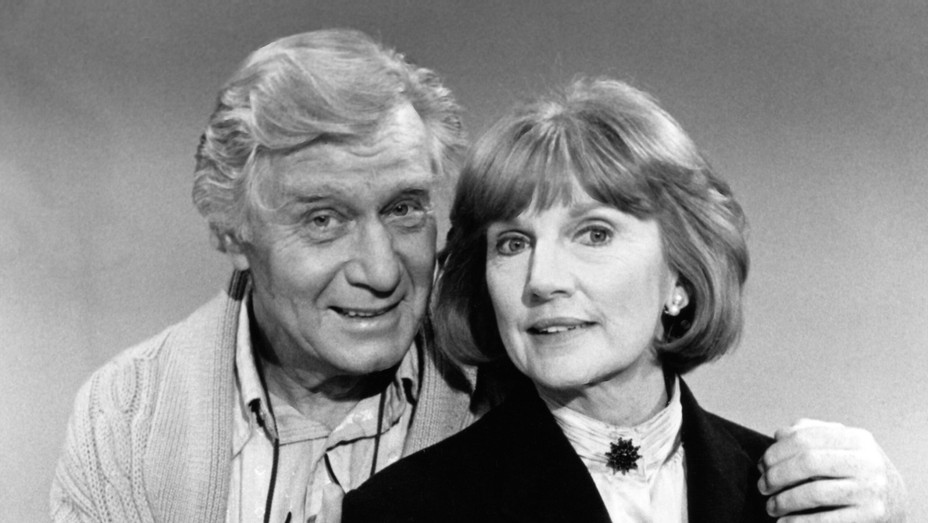 George Gaynes and Allyn Ann McLerie - H Photofest