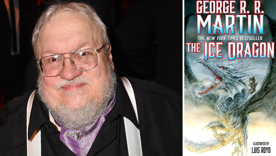 George RR Martin - The Ice Dragon Book Cover- Split-Getty-H 2018