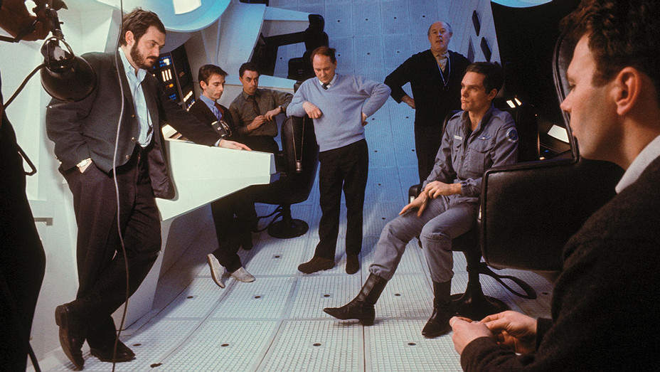 2001 - A Space Odyssey -crewmembers on the set- ONE TIME USE ONLY - Getty - H 2018