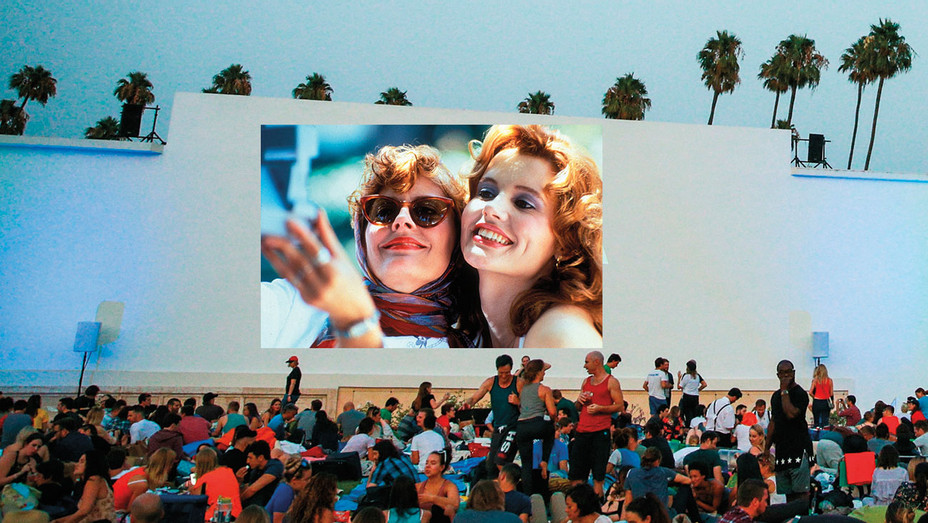 Hollywood Forever and Thelma and Louise  Photo-Illustration -Getty-Photofest-H 2018