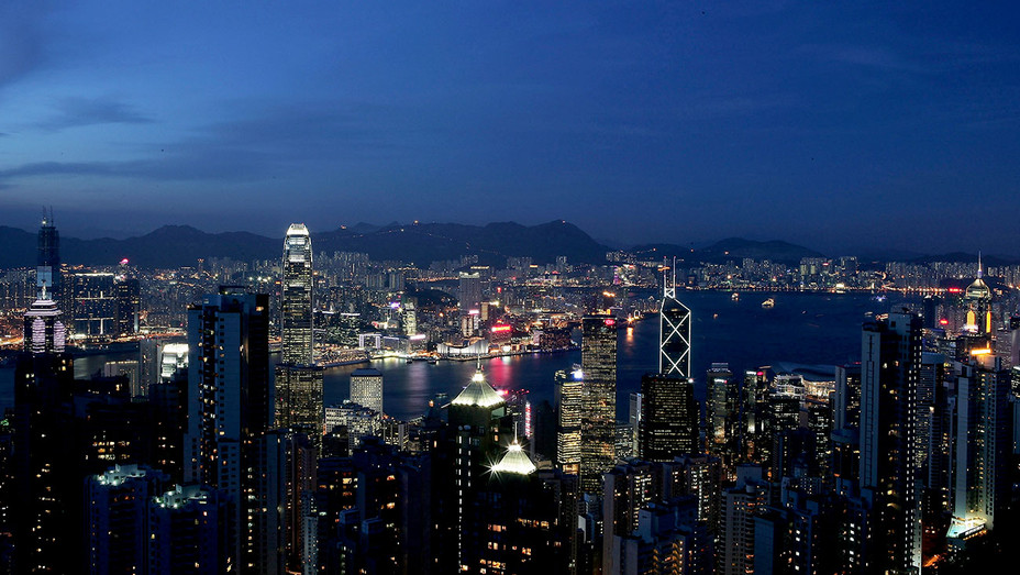 HONG KONG -  CHINA Night - Getty - H 2018