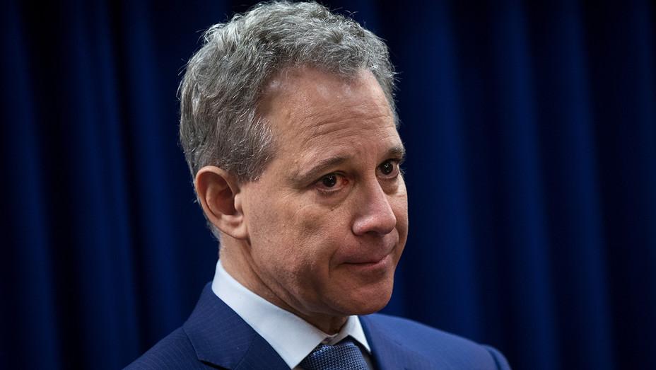 New York State Attorney General Eric Schneiderman Serious - Getty - H 2018