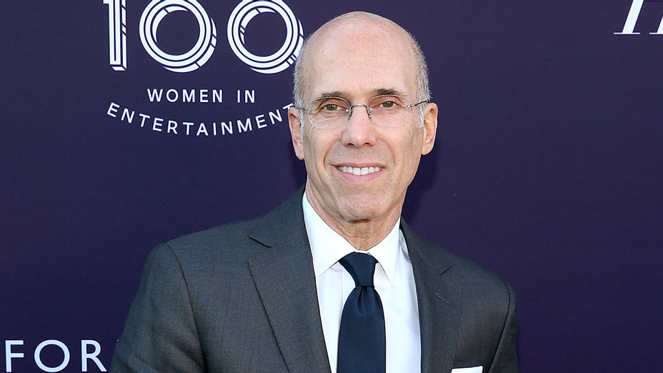 Jeffrey Katzenberg attends the Hollywood Reporter/Lifetime WIE Breakfast - Getty-H 2018