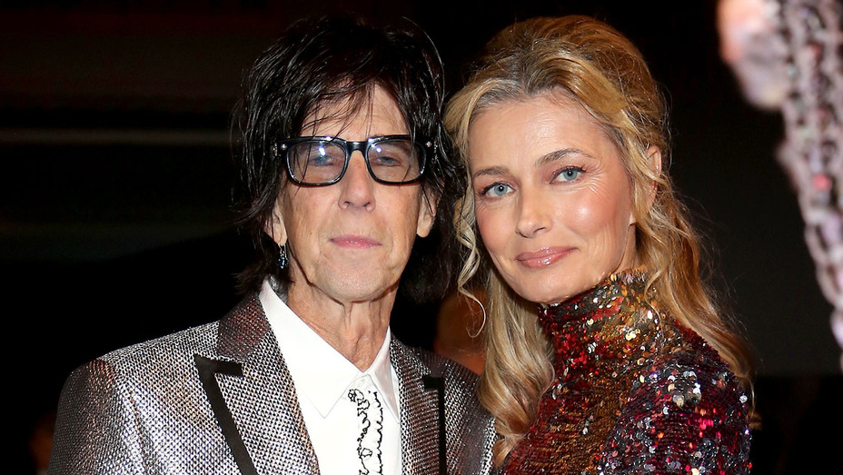 Ric Ocasek and Paulina Porizkova -33rd Annual Rock & Roll Hall of Fame Induction Ceremony - Getty-H 2018