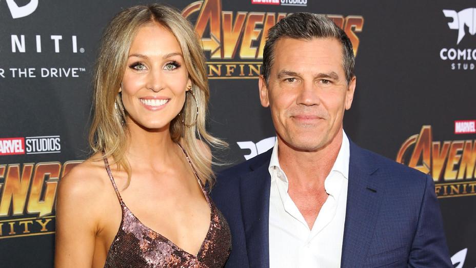 Kathryn Boyd and Josh Brolin - Avengers Infinity War Global Premiere - Getty - H 2018