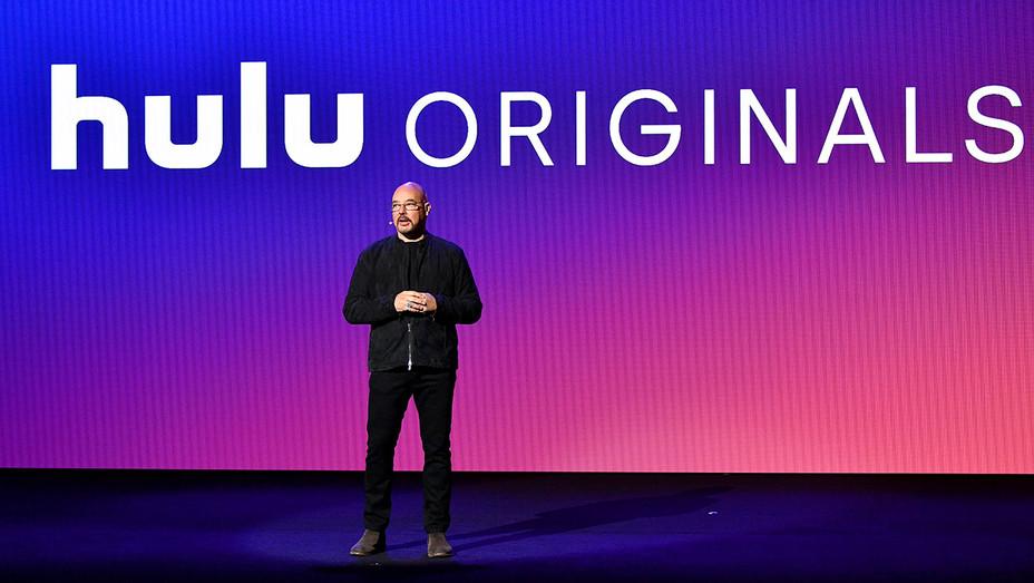 Joel Stillerman speaks onstage during Hulu Upfront 2018 - May 2, 2018-Getty-H 2018