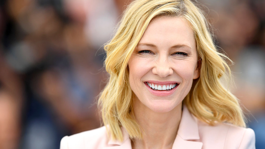 Cate Blanchett attends the Jury photocall during the 71st annual Cannes Film Festival  -Getty-H 2018