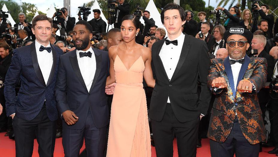 BlacKkKlansman Cast Cannes - Getty - H 2018