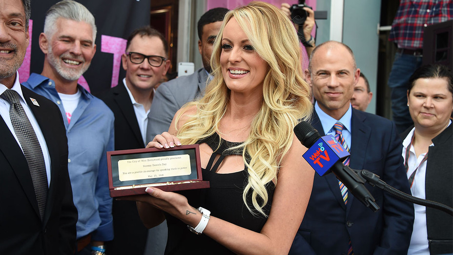 Stormy Daniels Key to City - One Time Use Only - Getty - H 2018