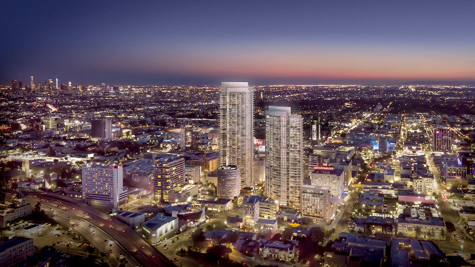 Style Real Estate - A rendering of Palumbo's planned Hollywood Center - H 2018