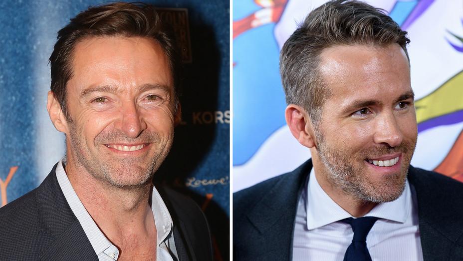 Hugh Jackman Ryan Reynolds Split - Getty - H 2018