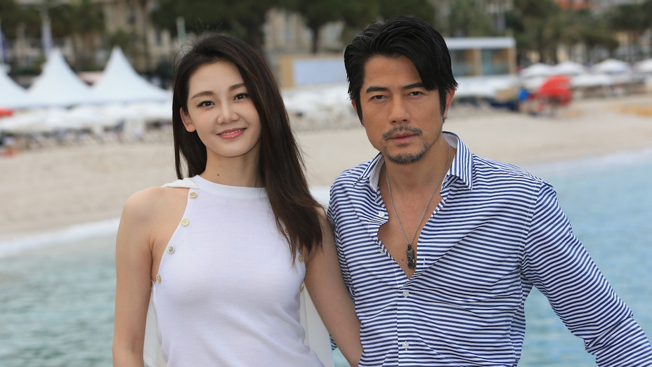 Aaron Kwok and Miao Miao in Cannes - H 2018