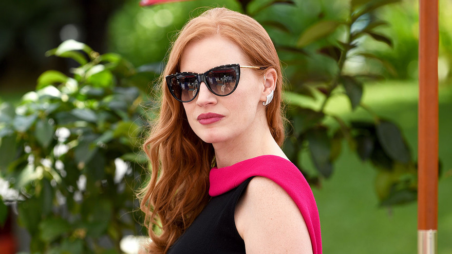 Jessica Chastain_Cannes - Getty - H 2018