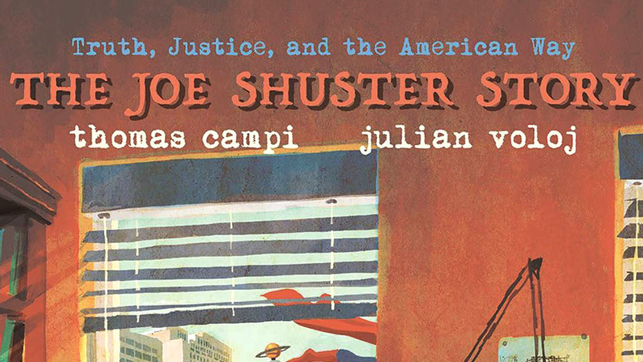The Joe Shuster Story - Cover - Publicity-P 2018