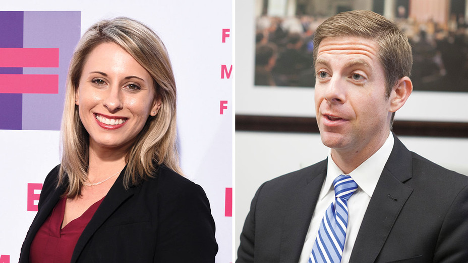 Katie Hill and Mike Levin_Split ONE TIME USE- Newscom - H 2018