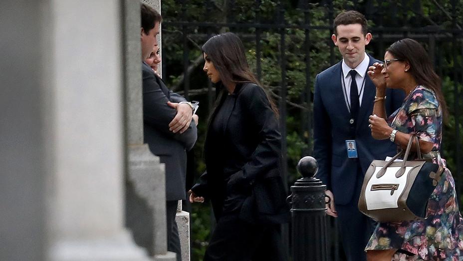 Kim Kardashian visits White House - Getty - H 2018