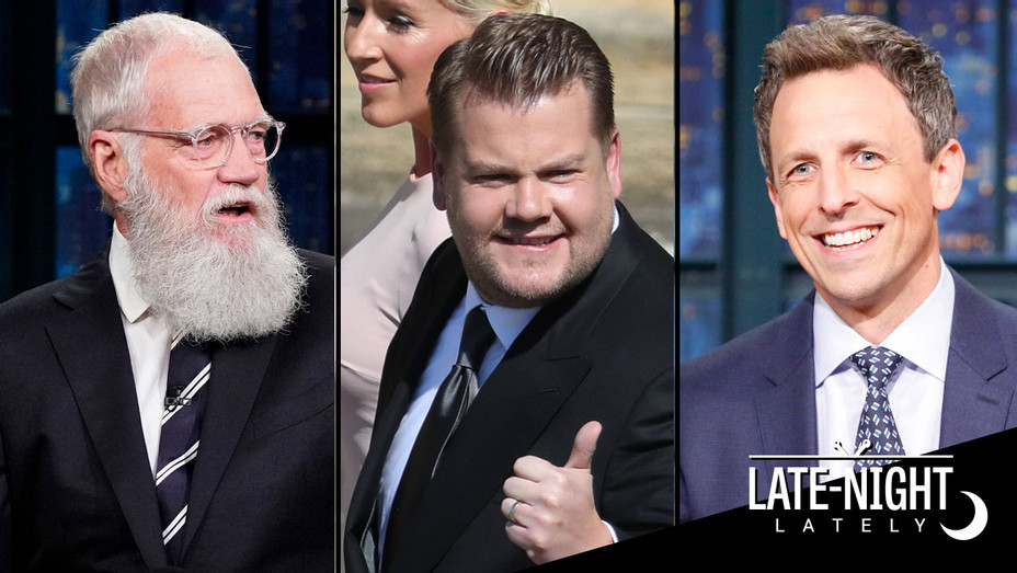 Late Night Lately - David Letterman, James Corden and Seth Meyers - Publicity - H 2018