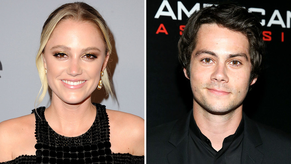 Maika Monroe and Dylan O'Brien Split-Getty-H 2018