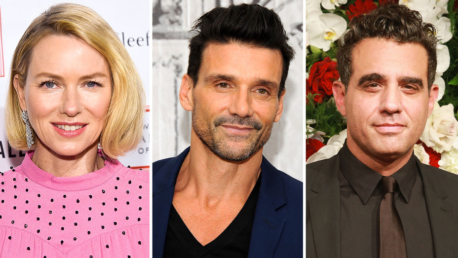 Naomi Watts, Frank Grillo and Bobby Cannavale - Split - Getty - H 2018