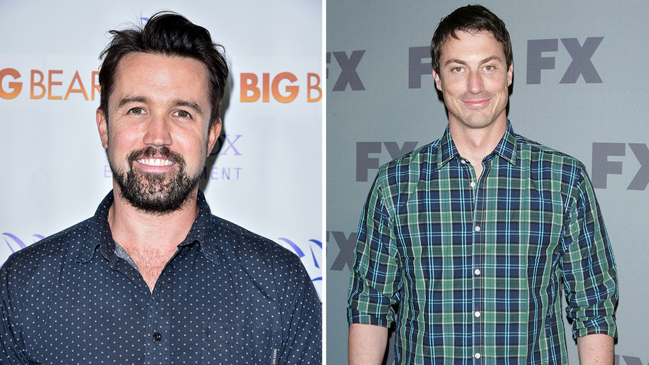 Rob McElhenney Rob Rosell Split - Getty - H 2018