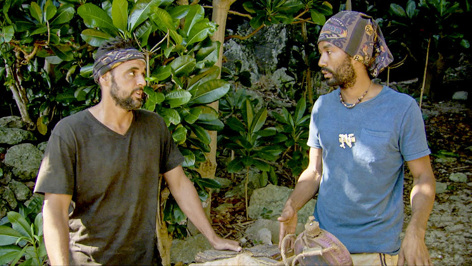 Survivor Ghost Island - Always Be Moving - Domenick Abbate and Wendell Holland -Publicity-EMBED 2018