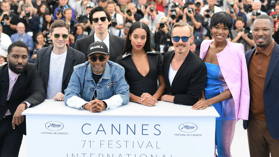 'BlacKkKlansman' press conference in Cannes with Spike Lee, Adam Driver etc - H 2018