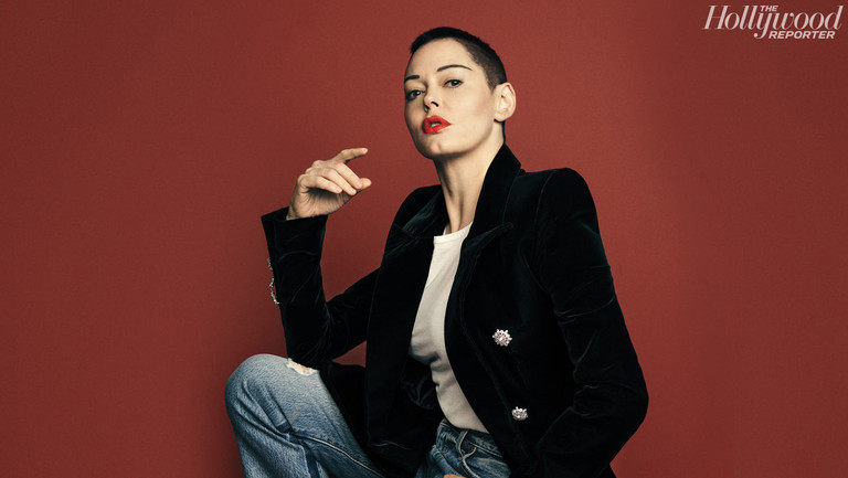 """On the Road With Rose McGowan: An Actress Turned Activist Leaves the """"Hollywood Bubble"""" Behind"""