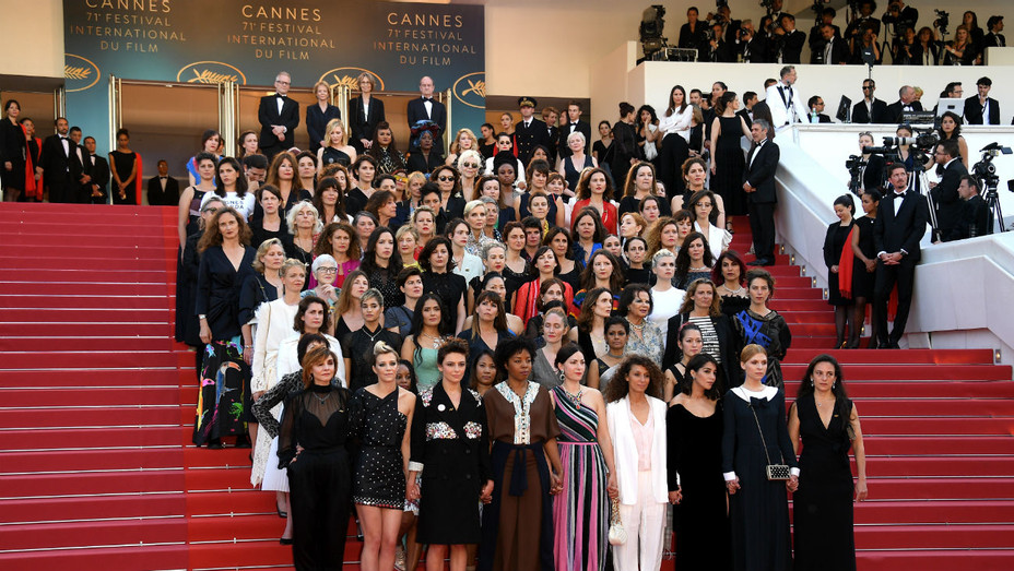 Cannes women's march - H 2018