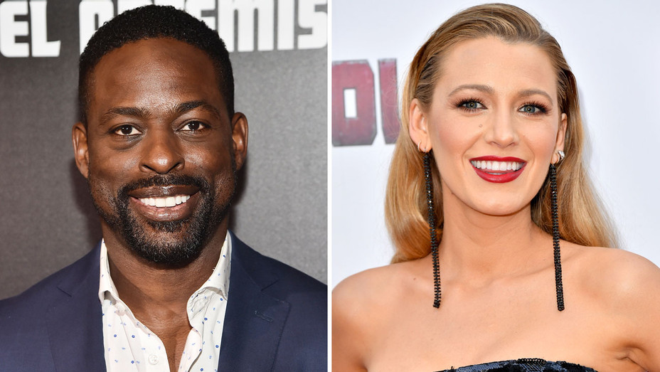 Sterling K Brown and Blake Lively - Split - Getty - H 2018