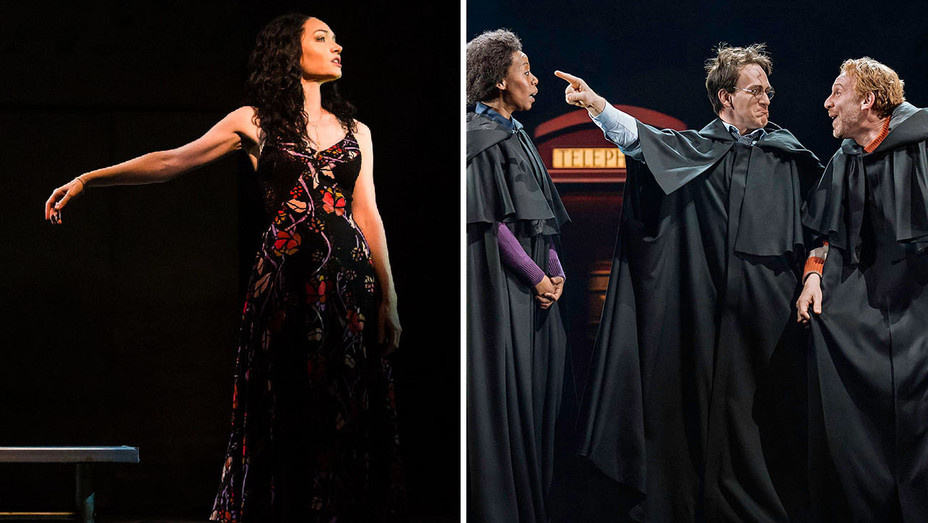 The Band's Visit and Harry Potter and the Cursed Child Production Still - Split - Publicity - H 2018