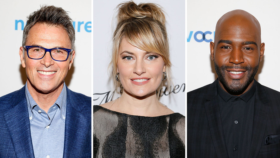 tim daly, madchen amick and karamo brown_Split - Getty - H 2018