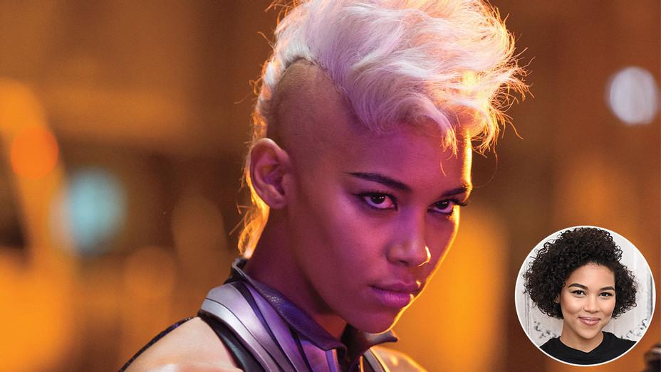 X-Men's Storm Spinoff -Inset of Alexandra Shipp- Getty-H 2018