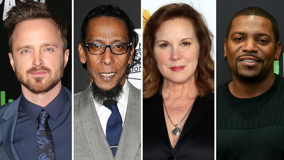 Aaron Paul, Ron Cephas Jones, Elizabeth Perkins and Mekhi Phifer -Split-Getty-H 2018