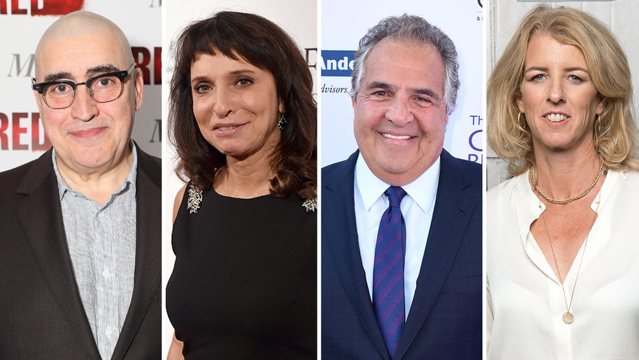 Alfred Molina, Susanne Bier, Jim gianopulos and rory kennedySplit-H 2018