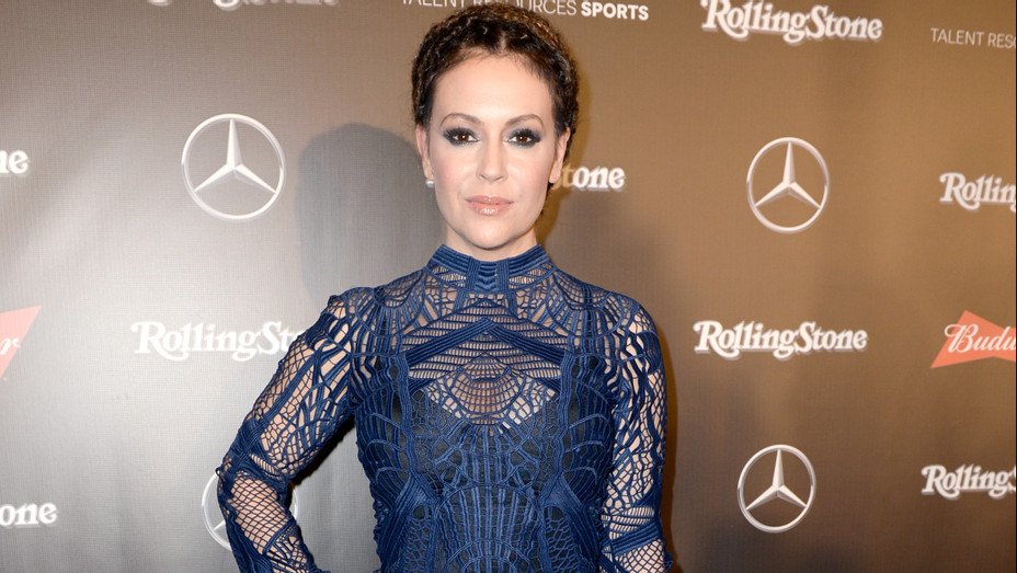 Alyssa Milano at the Rolling Stone Live - Getty - H 2018