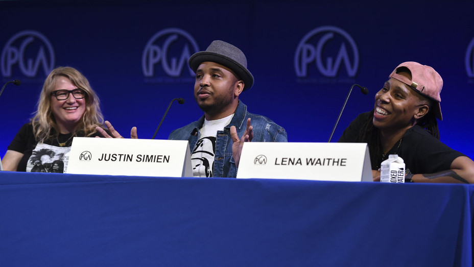Justin Simien Lena Waithe Produced By - AP - ONE TIME USE ONLY - H 2018