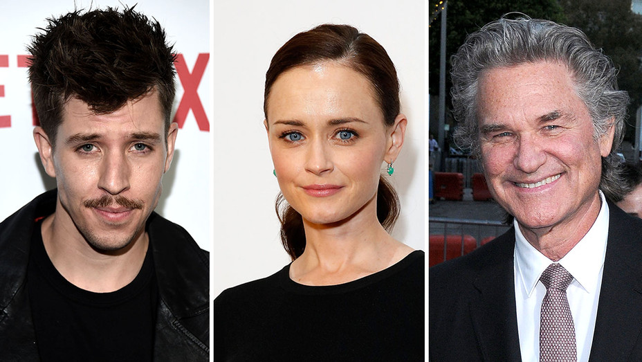 Beau Knapp, Alexis Bledel and Kurt Russell-Split-Getty2-H 2018