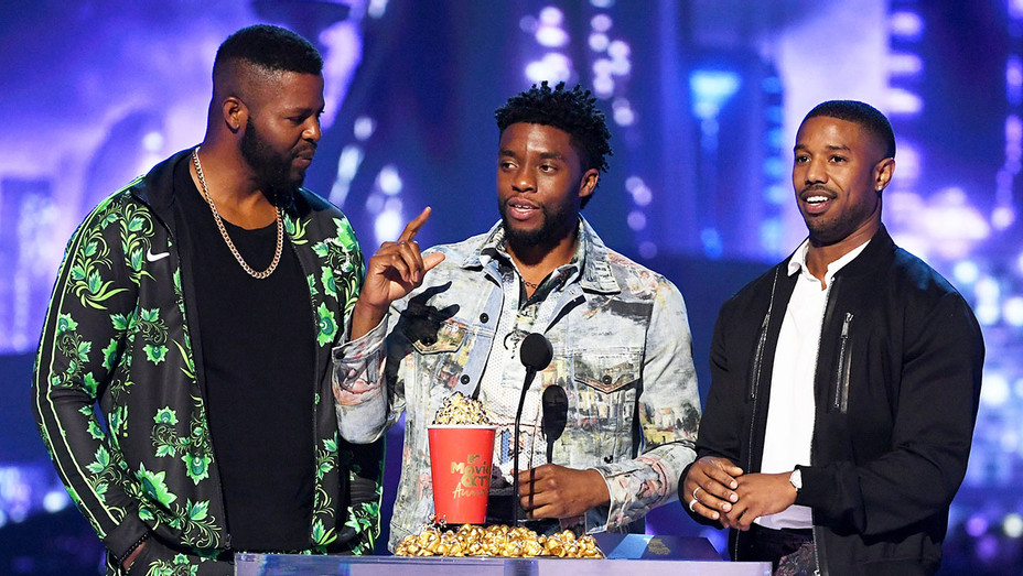 Black Panther_MTV Movie Awards - Getty - H 2018