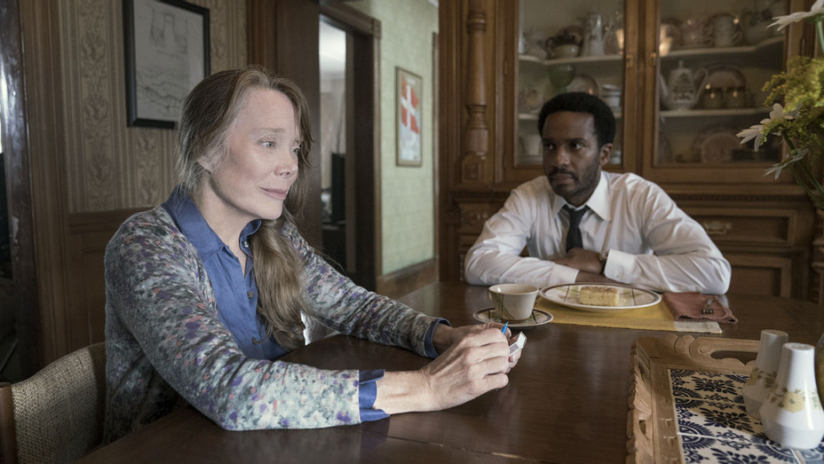 Castle Rock - Severance - Episode 101 - Sissy Spacek and Andre Holland-Publicity- H 2018