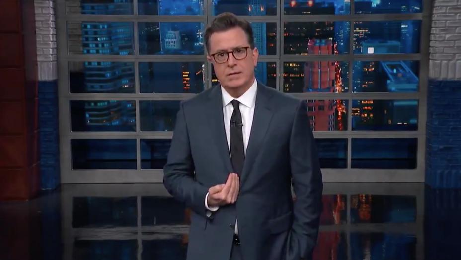 Stephen Colbert Executive Order - Screenshot - H 2018