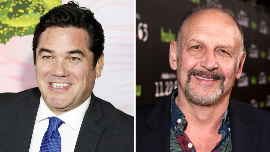 Dean Cain and Nick Searcy - Getty - H Split 2018