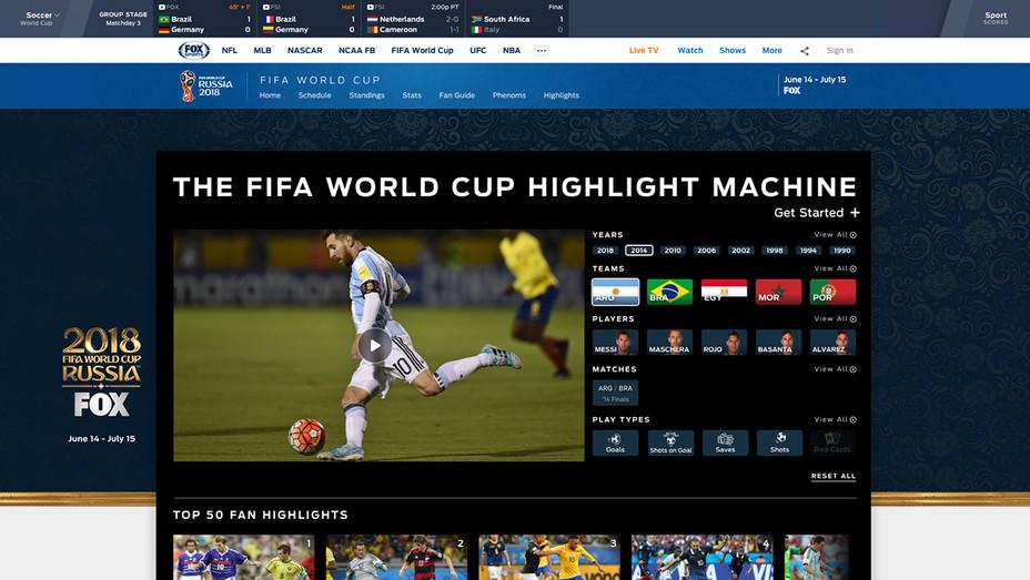 FIFA World Cup Highlight Machine - Publicity - H 2018