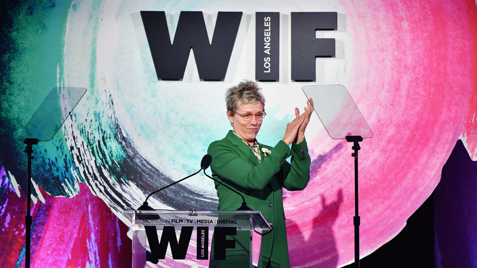 Frances McDormand WIF Awards - Getty - H 2018
