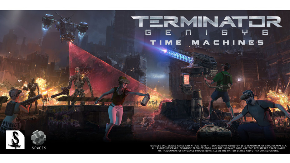 Terminator VR concept art - Publicity-H 2018