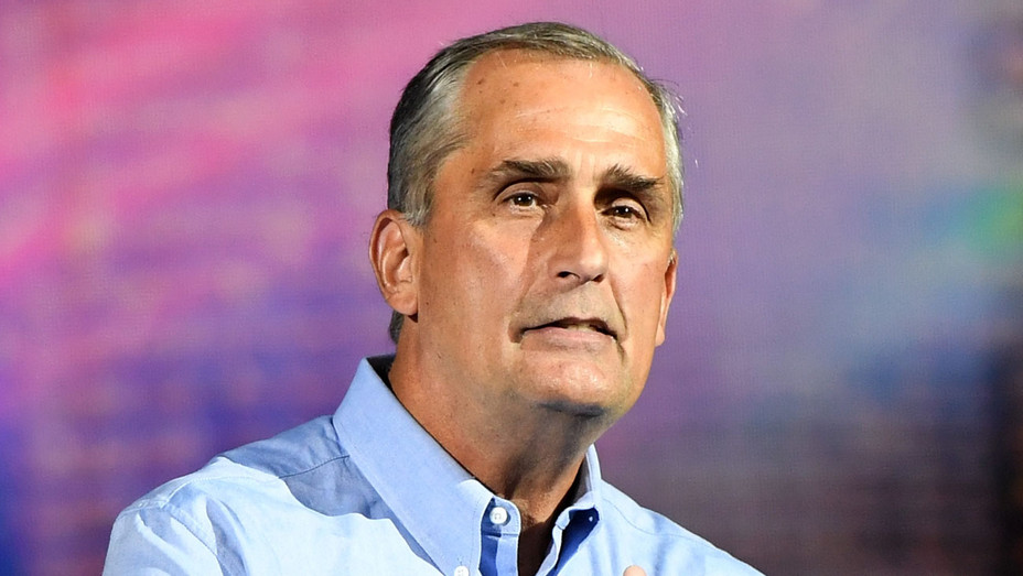 Brian Krzanich -CES 2018 at Park Theater- Getty-H 2018