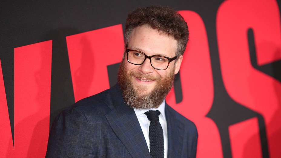 Seth Rogen attends the premiere of Universal Pictures Blockers  - Getty -H 2018